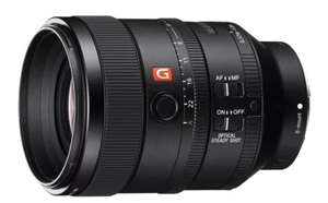 Sony Alpha SEL100F28GM 100mm F2.8 STF GM OSS FF FE Mount Lens