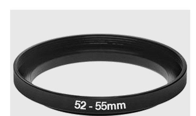 Aluminium Step Up Ring 52-55mm