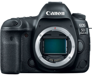 Canon EOS5D Mark IV 30.4MP Full Frame DSLR Camera Body Only