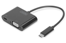 Digitus USB Type-C (M) to VGA (F) Adapter Cable with Power Delivery