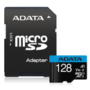 ADATA Premier microSDXC UHS-I A1 V10 Card with Adapter 128GB