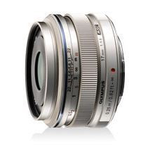 Olympus 17mm f1.8 Wide Metal Snap Micro Four Thirds Lens Silver