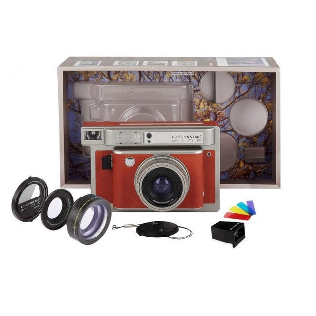 Lomography Lomo'Instant Wide Camera, 2 lenses & Splitzer (Central Park)