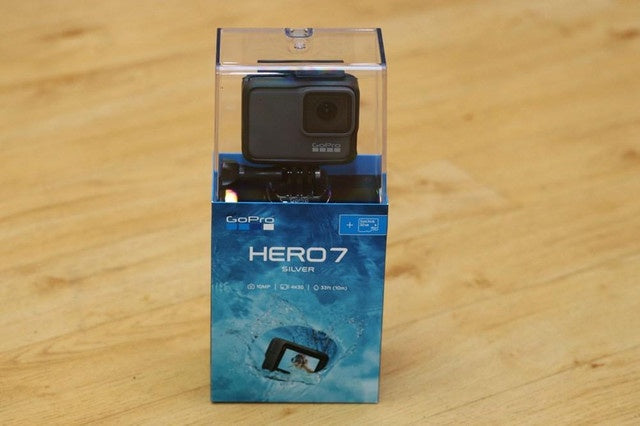 Gopro Hero7 Silver with Bonus 32GB Sandisk