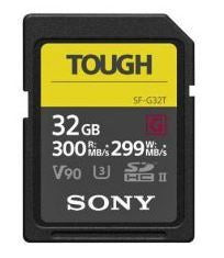 Sony SFG32T V90 UHS-II U3 Tough SDHC Card 32GB