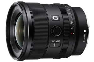 Sony Alpha SEL20F18G FE 20mm F1.8 FE Mount Lens