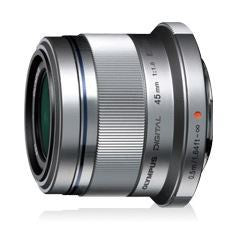 Olympus 45mm f1.8 Portrait Micro Four Thirds Lens Silver