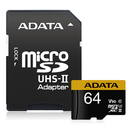 ADATA Premier ONE V90 UHS II Micro SDXC Card with Adapter 64GB