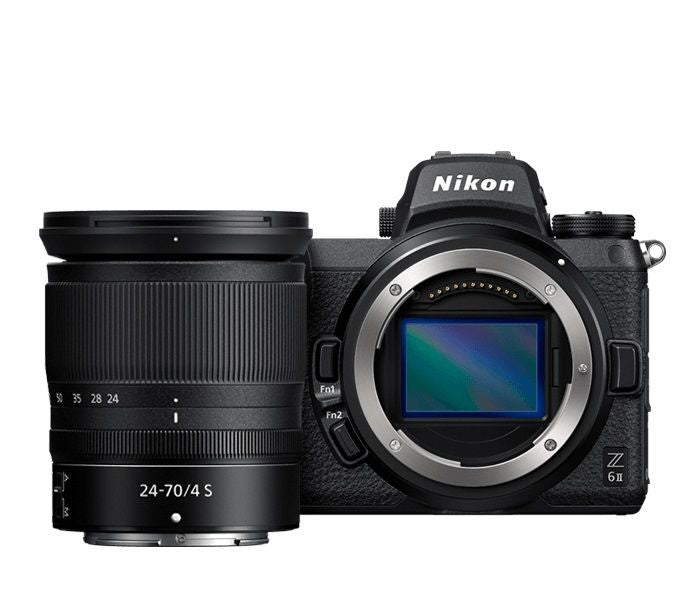 NIKON Z 6II MIRRORLESS WITH NIKKOR Z 24-70MM F4