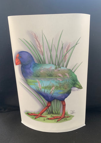 Takahe Art LED Lamp