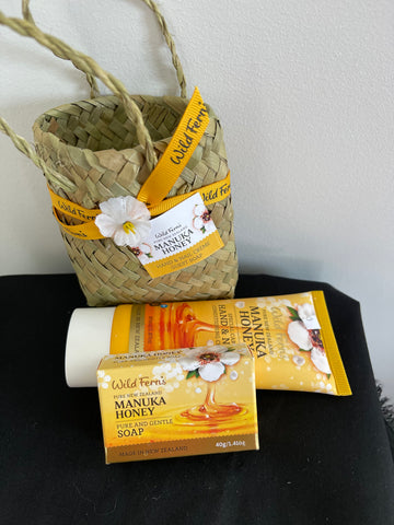 Manuka Honey Woven Basket
