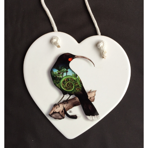 'Huia' Wall Plaque
