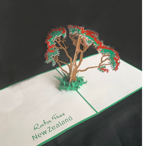 Rata Tree Popup Card