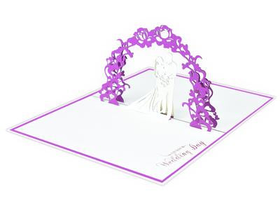 Wedding Day 3D Pop-Up Card