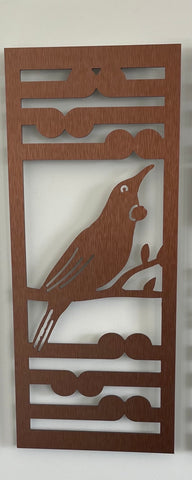 Art Panel: Tui+Koru Brushed Copper