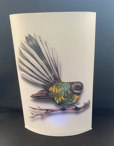 Fantail Art LED Lamp