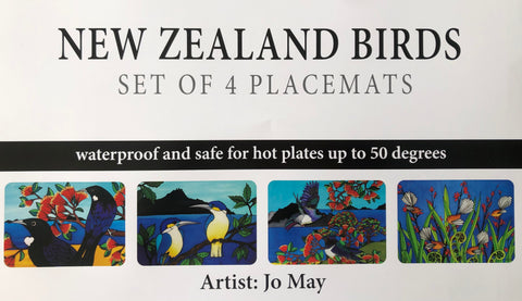 Nz Birds Placemat set of 4
