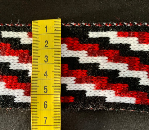 Maroon & Red Poutama- 2.5 inch Band