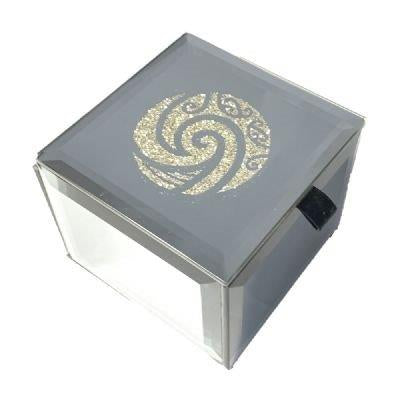 Koru Bling Mirror Trinket Box(small)