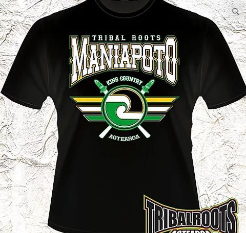 Tribal Roots Maniapoto T-Shirt