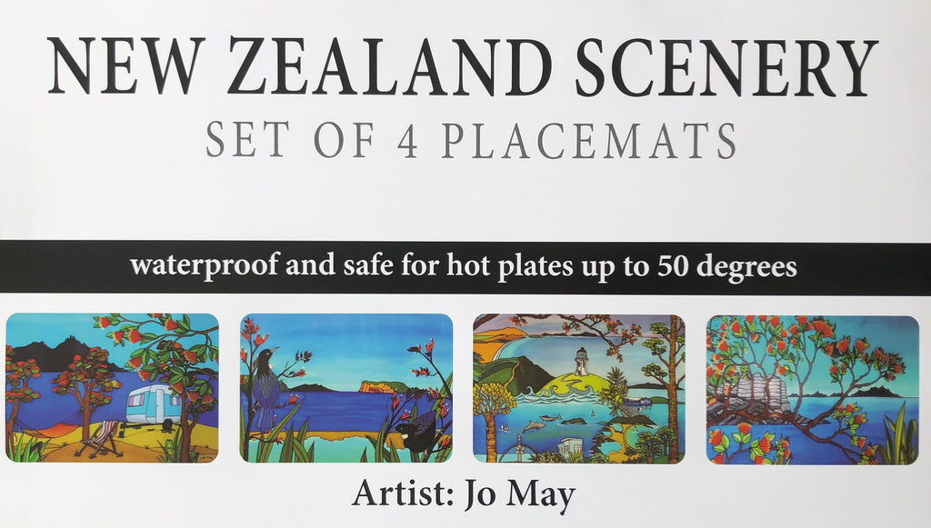 NZ Scenery Placemat Set of 4