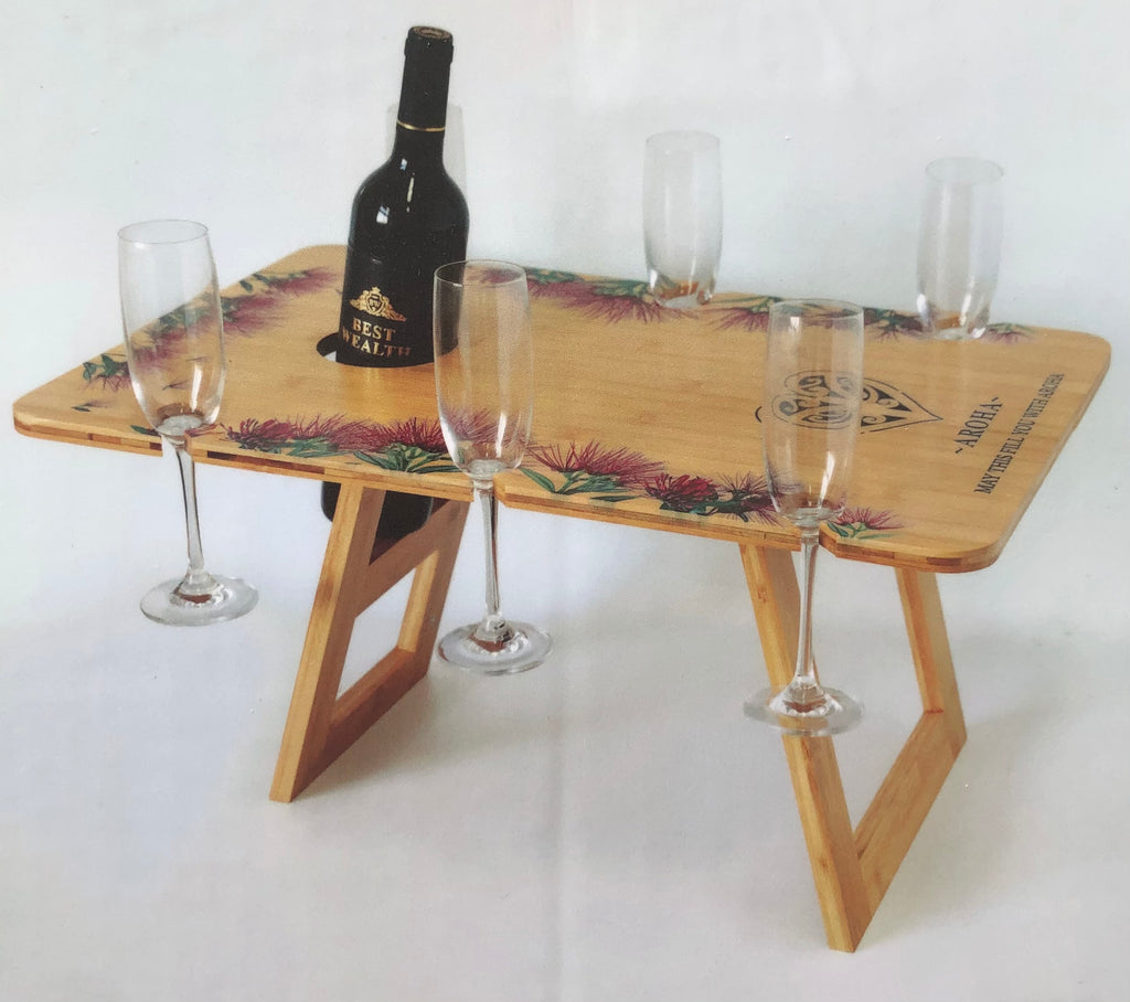 Aroha: Rectangle Bamboo Table