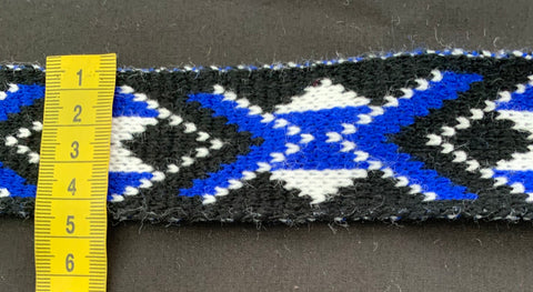 Royal Blue Pātiki - Taniko Band