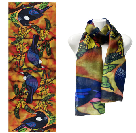 Jo May Autumn Tui Scarve