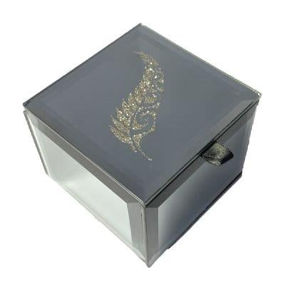 Fern Bling Bling Mirror Trinket Box(big)