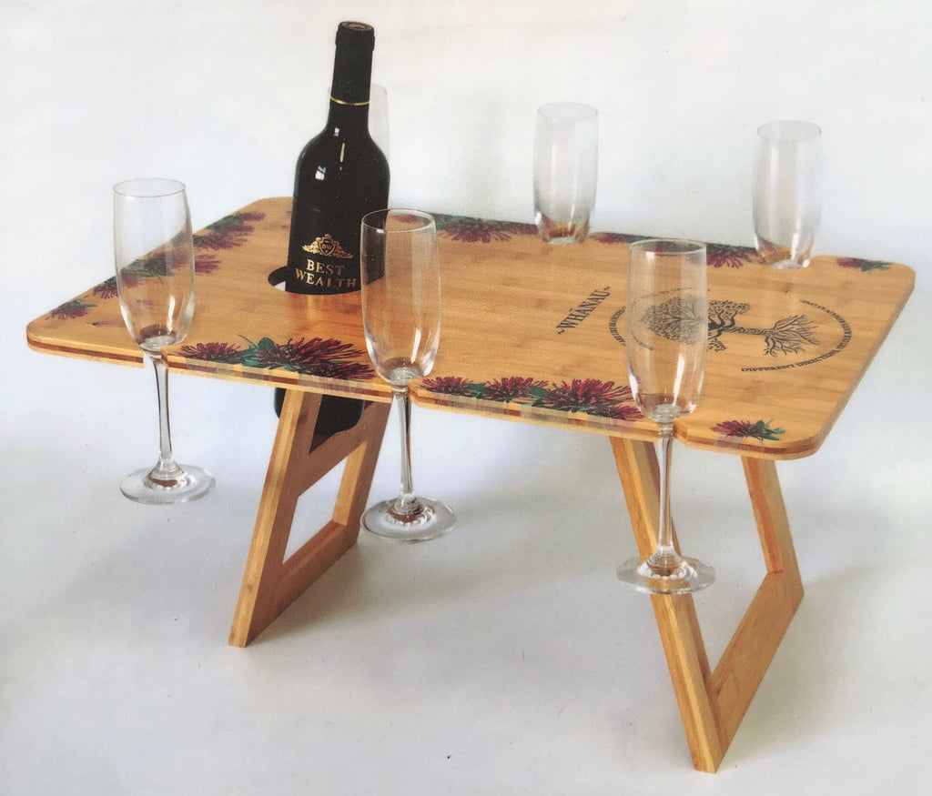 Whanau: Rectangle Bamboo Table