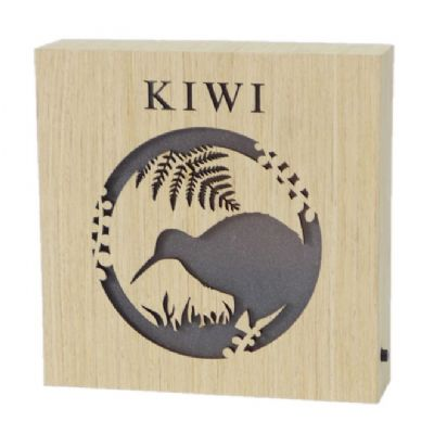 Kiwi wooden LED block