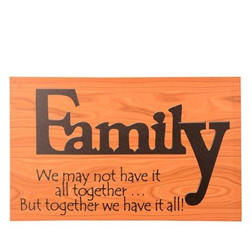 FAMILY SAYING ON CANVAS