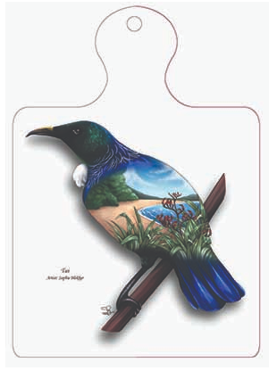 Tui Trivet Wall Plaque