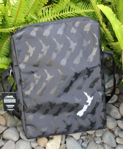 NZ IDENTITY SHOULDER BAG - NZ MAP