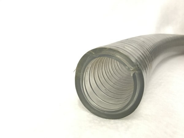 Vacuum Hose - Steel Wire Reinforced 1.5 inch inside diameter, 7mm wall strength - Extra Strong - PRICED AND SOLD BY THE FOOT