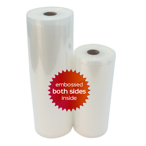 1 roll 8 x 50 ft + 1 roll 11 x 50 ft Vacuum Sealer Rolls (2 rolls total) **FREE SHIPPING USA**