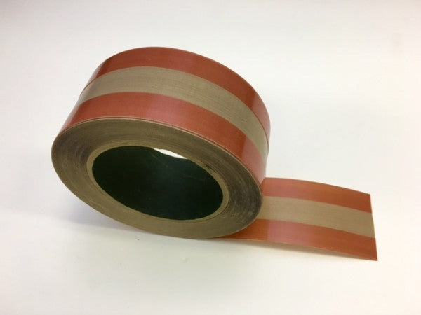Teflon Tape - 2 inches wide - 5mil thick ZONE Tape - 18 yards per roll