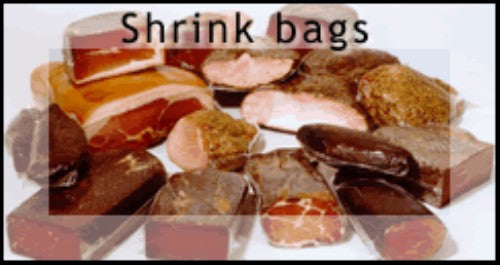 SB-025 4.5 x 14 115mm x 350mm Shrink Vacuum Bags - 1,000 per case
