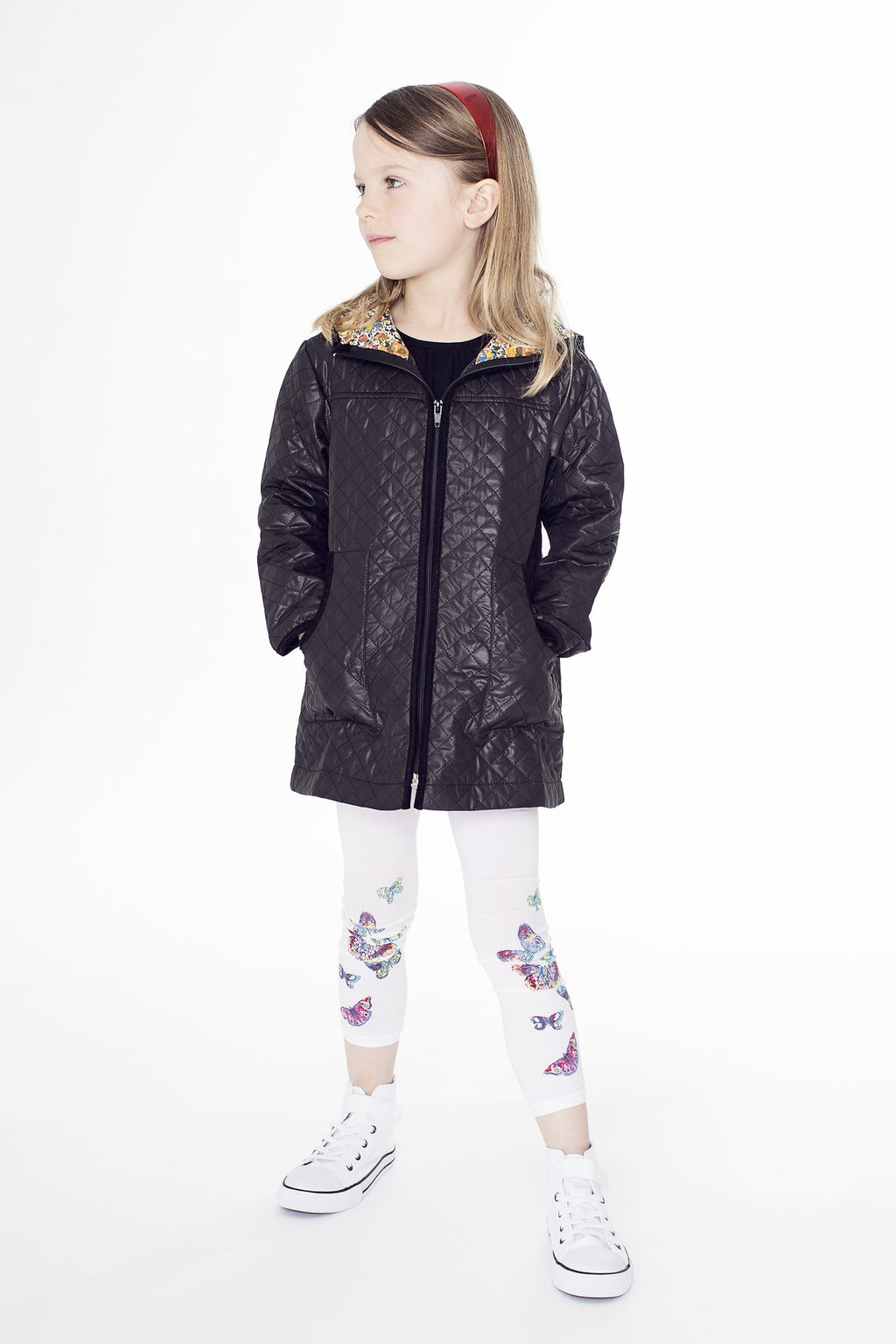 Jacket girl quilted JK 128