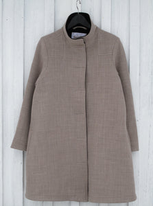 Coat classic JK130 stretchy beige