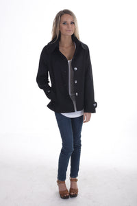 Jacket with big collar JK 110