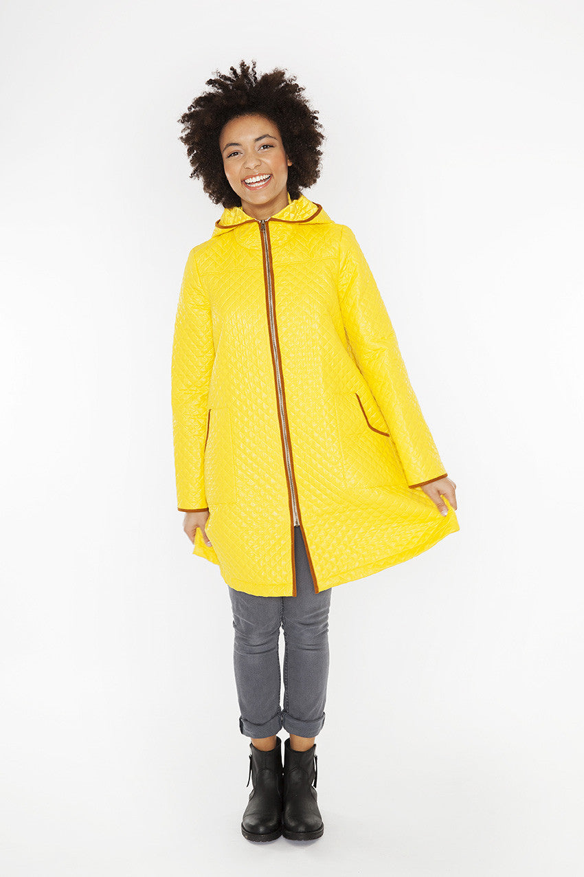 Coat spring quilted JK 128