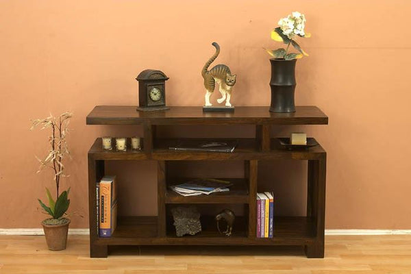 Solid Wood Cube Tv unit