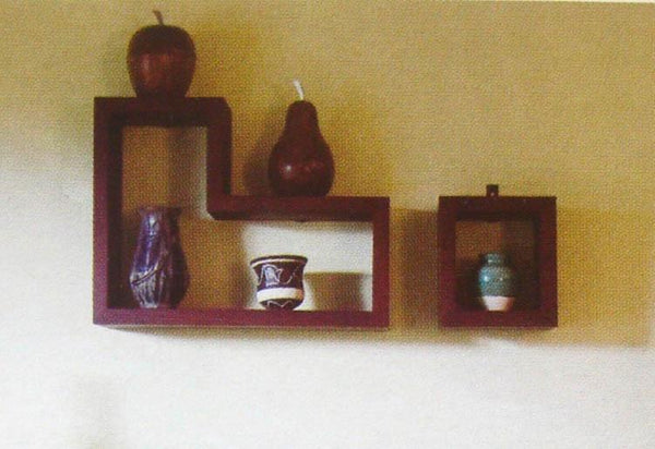Solid Wood Wall Stand Set