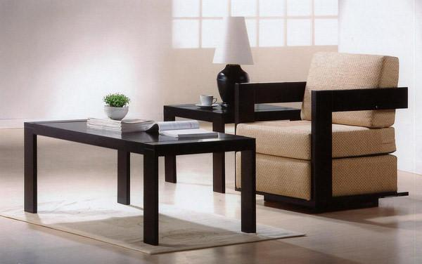 Solid Wood Cubex Sofa Set