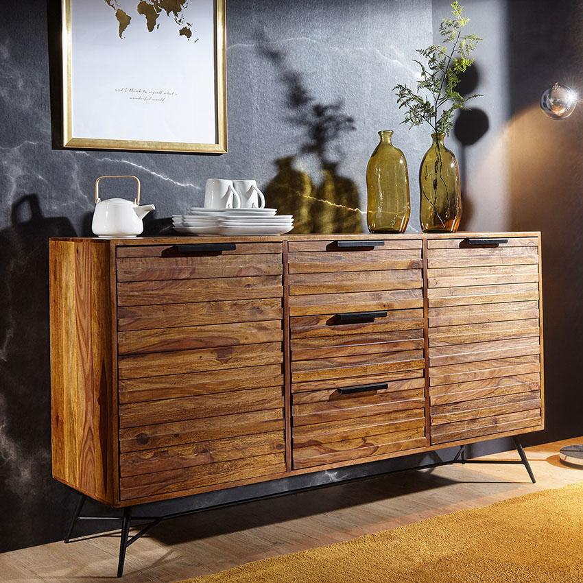 Solid Wood INDIANA Lass Sideboard