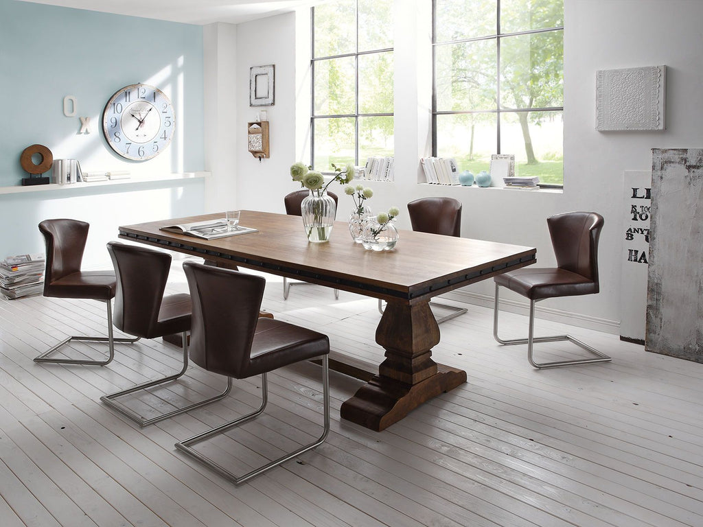 Solid Wood Vekrakis 8 Seater Conference Table