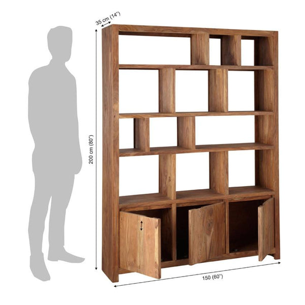 Solid Wood Voted Bookcase Grand