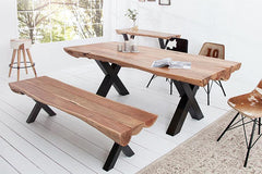 Solid Wood Indiana Thar Dining Set