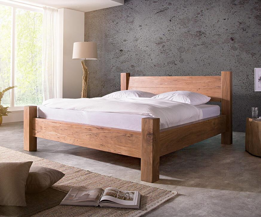 Solid Wood Hogan Bed